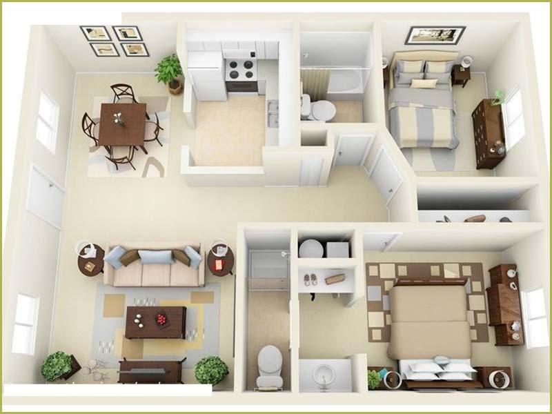 Tại sao nên bố trí các phòng trong nhà ở theo phong thủy